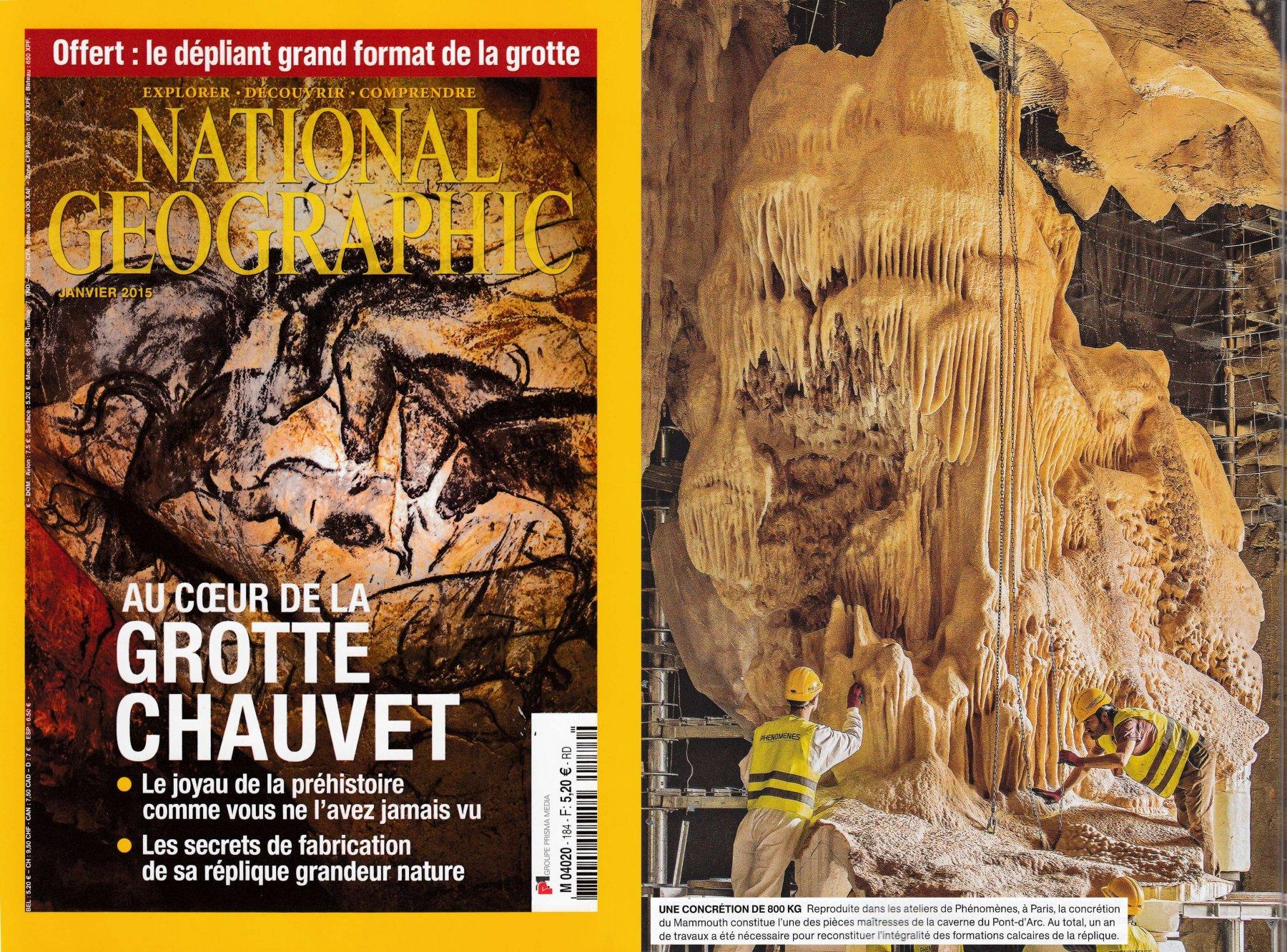 PHENOMENES sur National Geographic